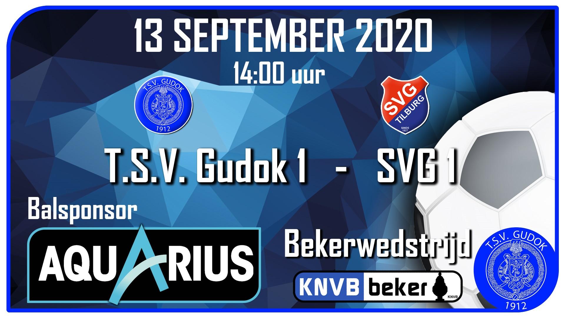 T.S.V. Gudok 1 - SVG 1 (13-09-2020)