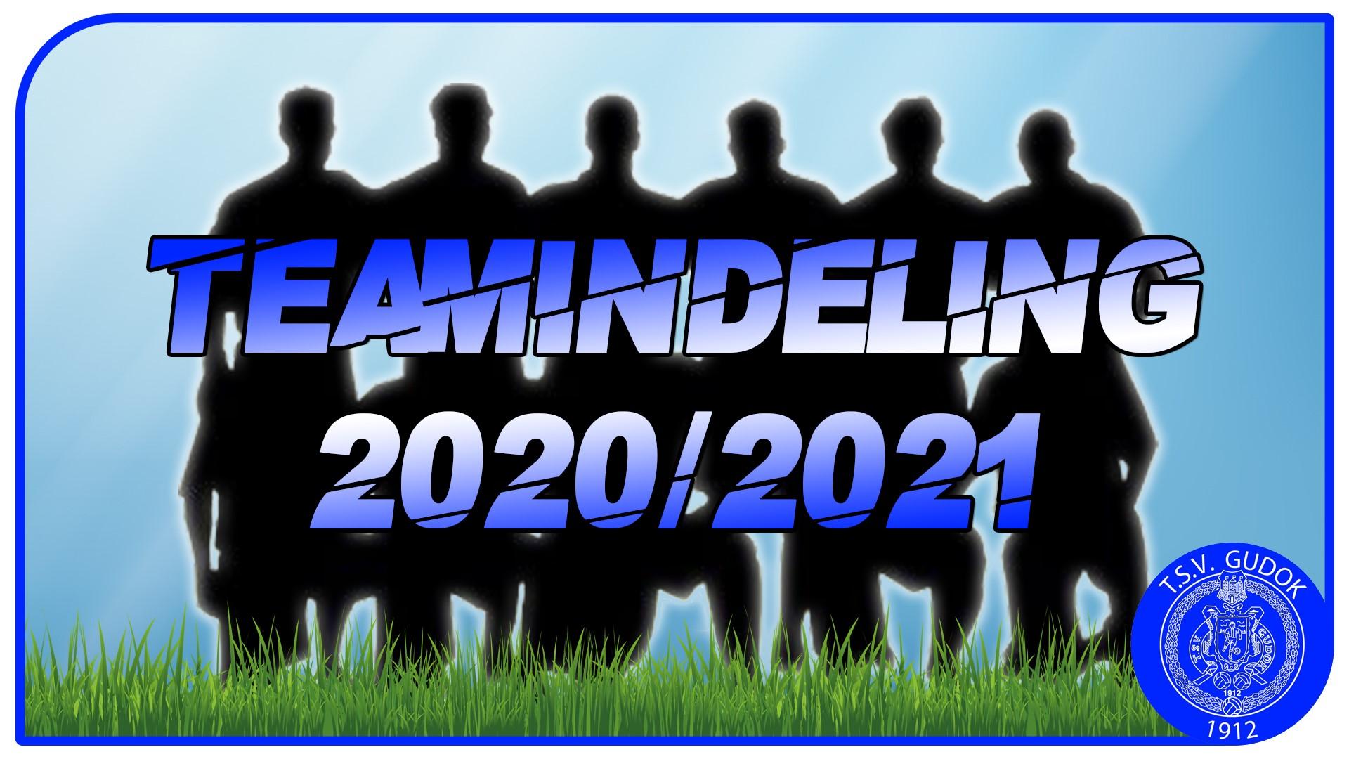 Teamindeling Senioren 2020/2021