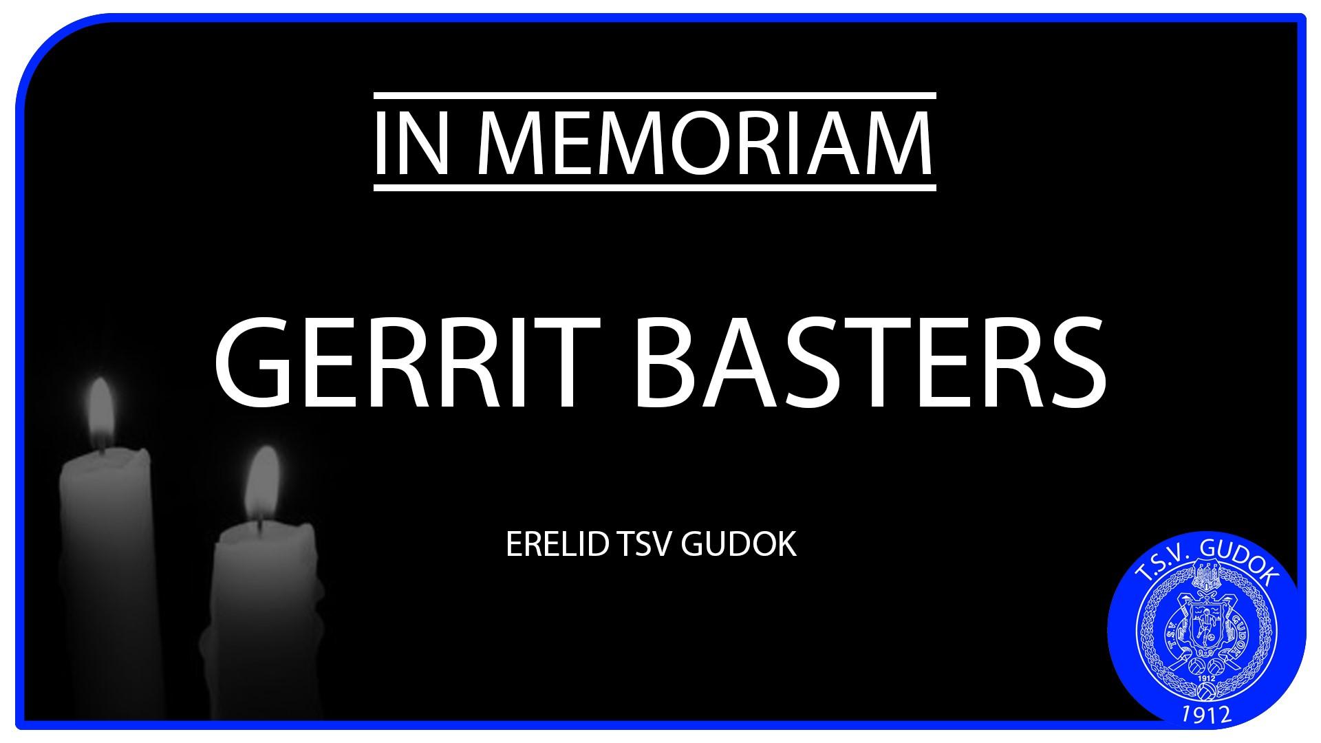 IN MEMORIAM: ERELID GERRIT BASTERS
