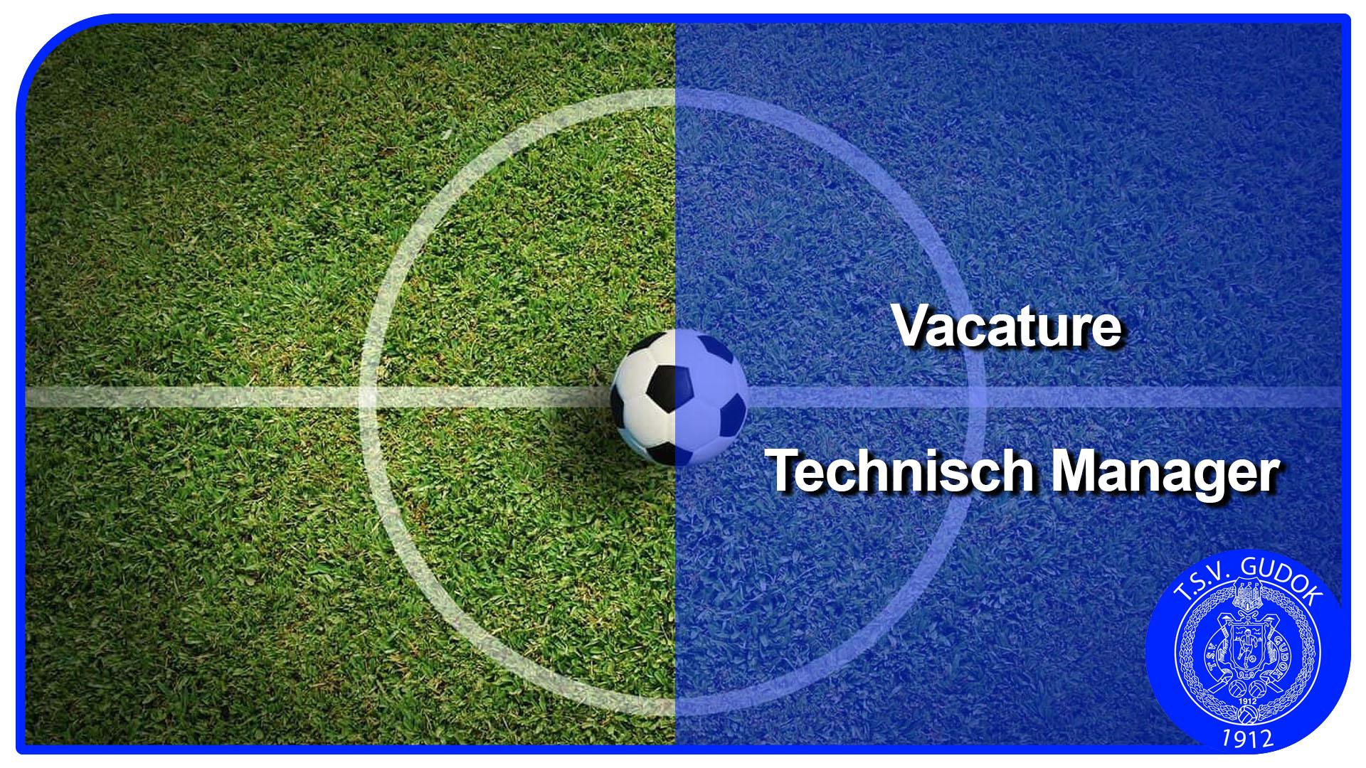 Vacature Technisch Manager TSV Gudok